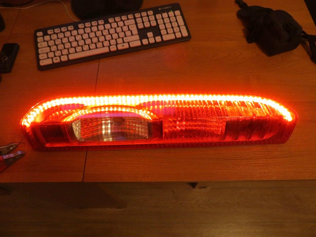 Переделка задних фонарей на светодиоды своими руками