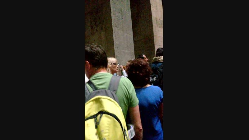 гроб ИИСУСА внутри Часовни
