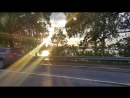 Закат на Дамбе в Солнечногорске