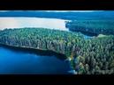 Озеро Тургояк, Челябинская область. 4K DJI Phantom 4