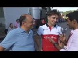 Гран При Австрии: Шарль Леклер и Фредерик Вассер об ошибке на первом круге