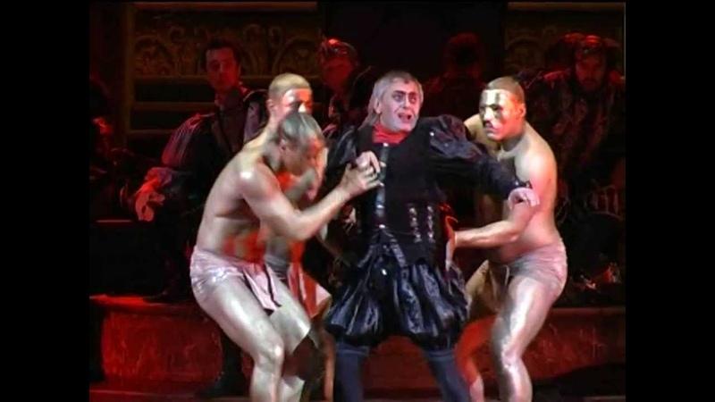Boris Statsenko - Rigoletto, Kazan 27.06.2010