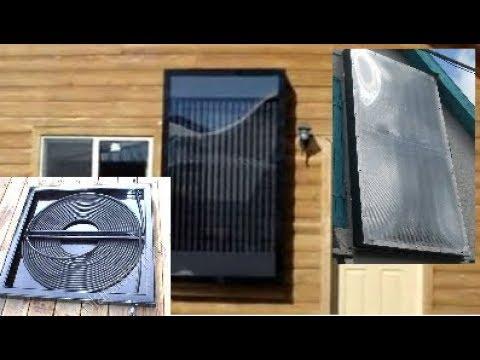 ТОП 6 самодельных солнечных нагревателей воды или воздуха