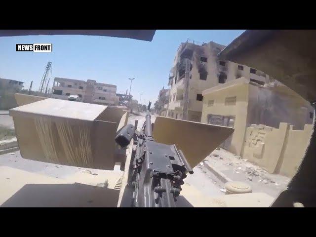 Операция по освобождению Ракки от боевиков ИГИЛ в районе Мансур