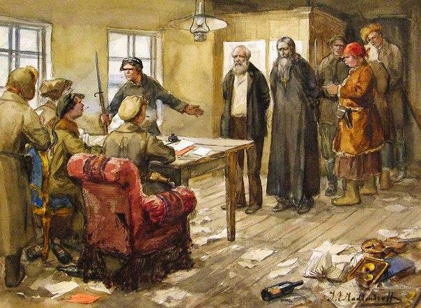 Революция и гражданская война глазами художника Nh613ikrYqc