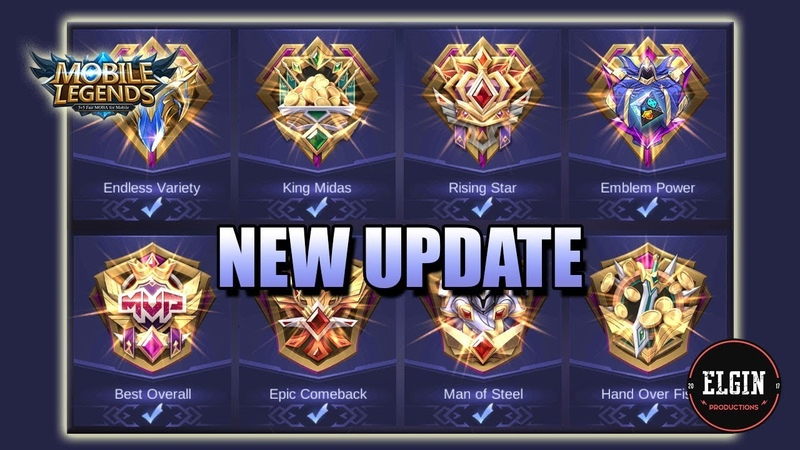 NEW UPDATE - NEW PROFILE AND ACHIEVEMENT SYSTEM