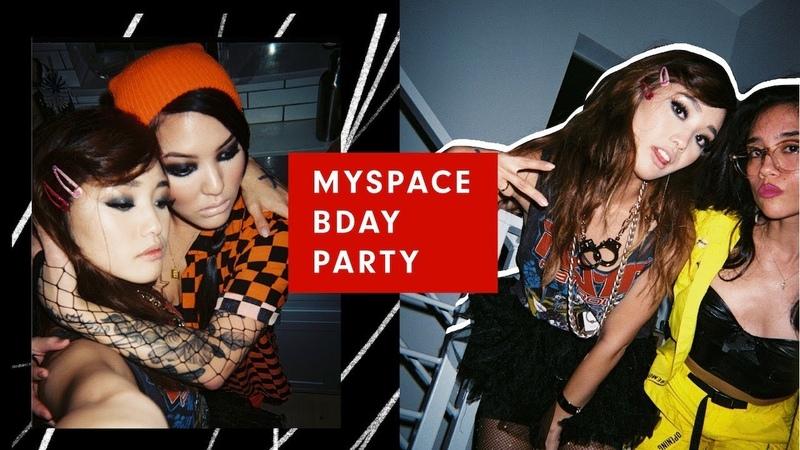MYSPACE BDAY PARTY | Sept Vlog