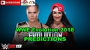 WWE Evolution 2018 Raw Women's Championship Ronda Rousey vs Nikki Bella Predictions WWE 2K19