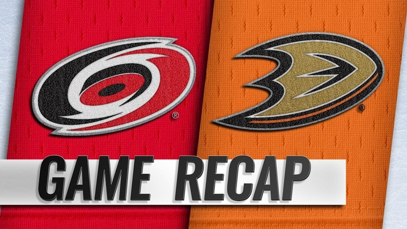 Bishop scores first NHL goal in Canes' 4-1 win