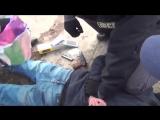 Задержание предполагаемого организатора теракта в Санкт-Петербурге (VHS Video)