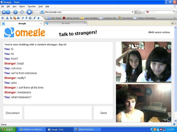 omegle vichatter stickam young girl boy hot girl flickr