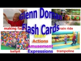 Baby Einstein Glenn Doman Flash Cards Baby Actions Amusement Learn English My Baby can Read