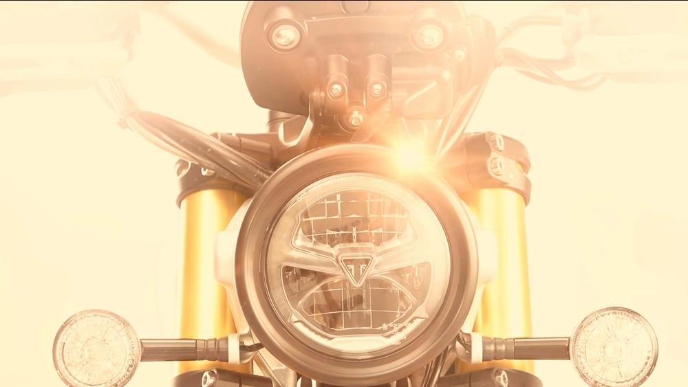 Второй тизер Triumph Scrambler 1200