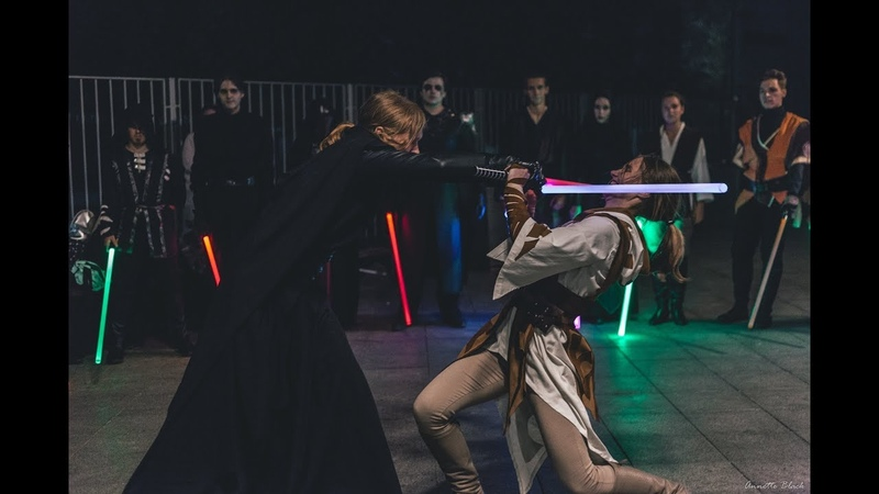 Star Wars perfomances from Saberfighting Art in Moscow