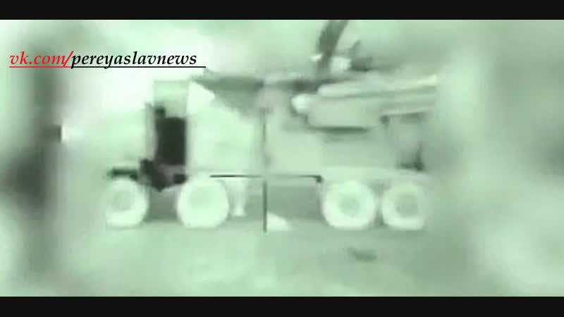 Израиль опубликовал видео, как ПВО Сирии-РФ успешно(по словам пропагандистов РФ) отразили удар ВВС Израиля по аэропорту Дамаска