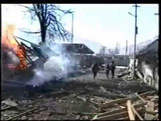 Выход группировки Рамзана Ахмадова из г Грозный. 2000 год.