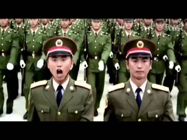 PLA Bayonet Actions Chinese Military Parade 1984 1999 2009 2015