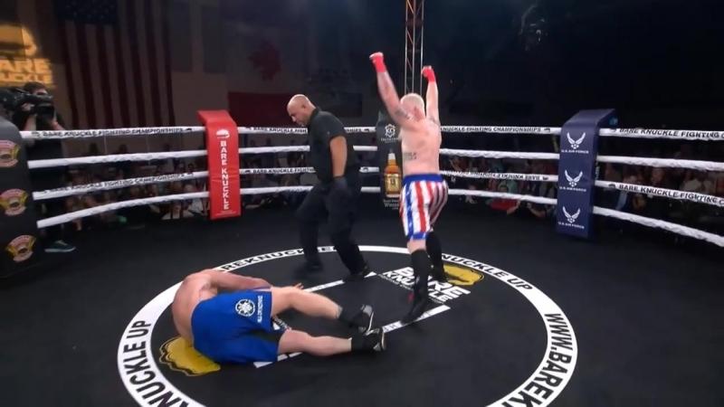 Eric Prindle vs Sam Shewmaker Уложил с одного удара