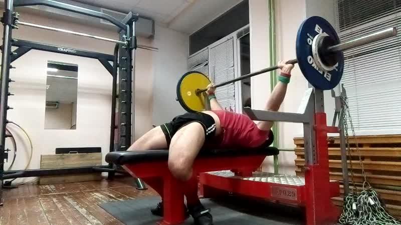 Жим 105 кг х 3