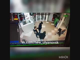 Избили парня в Гулливере. Ульяновск. https://vk.com/new_ulyanovsk
