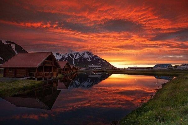 Оулафсфьордюр, Исландия