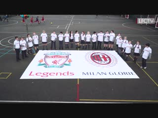 🔴 Reds Legends vs AC Milan Legends ⚫️