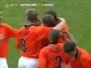 ЧМ 1998 Рональд де Бур Нидерланды гол в ворота сборной Мексики