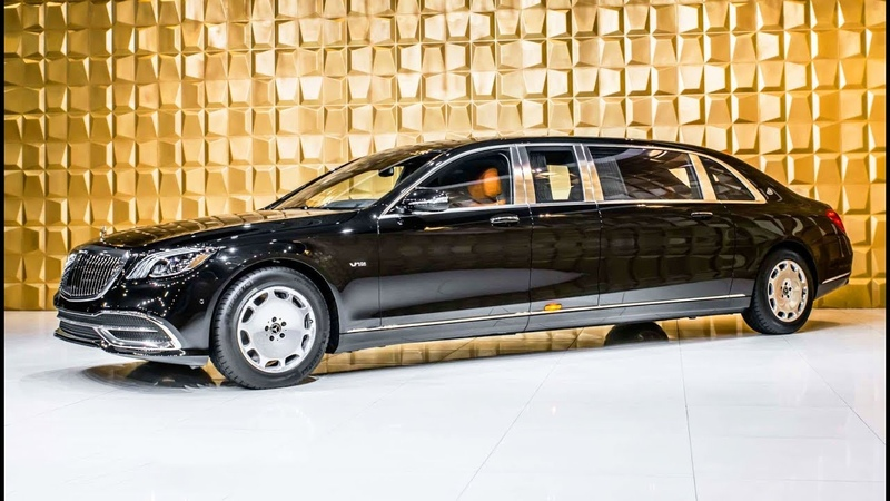 2019 Mercedes Maybach S 650 Pullman most luxury vehicle in the world