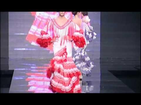 Desfile Pilar Vera. Trajes de Flamenca. Simof 2010