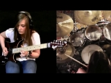 Tina S and Meytal Cohen - Metallica cover Master of Puppets