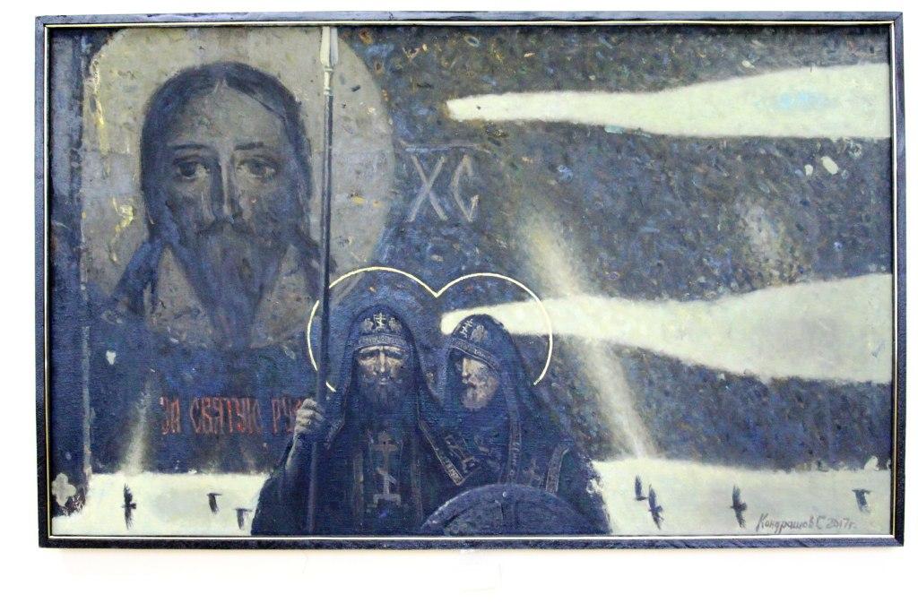 Союз художников ЛНР открыл в Луганске выставку ко Дню Победы (ФОТО)