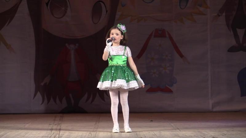 Первое выступление Дианы Международный конкурс Хрустальное сердце мира