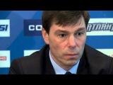 Пресс-конференция ХК Атлант-ХК СКА Санкт-Петербург