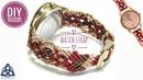 Macrame Watch Strap Tutorial How to make Macrame Watch Bracelet