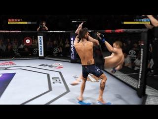 UFC 3 новый тейкдаун с подхватом лодыжки