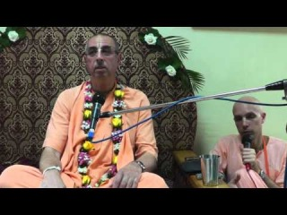 Niranjana Swami -- How to come to Krishna Counsciousness -- Kishinev (Moldova), July 15, 2014