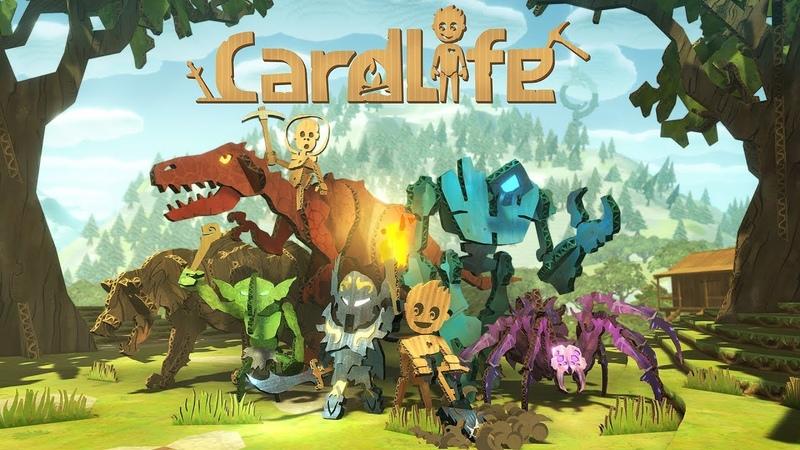 CardLife 1 Дом построен!