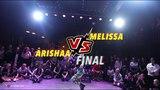 SPECIAL GYAL 2018 RUSSIA DANCEHALL 1X1 FINAL - ARISHAA vs MELISSA WIN