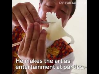 Японские сладости - новый вид искусства