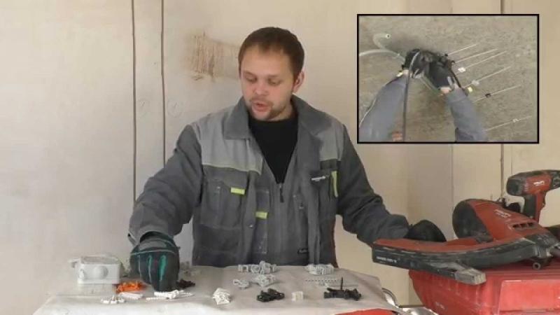 [Дмитрий Электромонтажник Дурнев] Т8.1 Способы крепления кабелей
