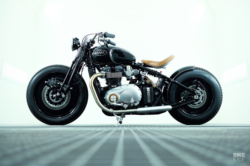 BAAK Motorcycles: боббер Triumph Bobber 1200 2020