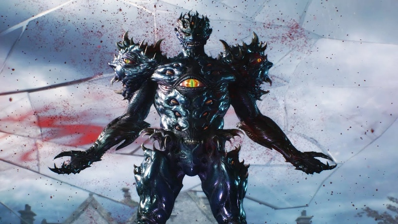 Devil May Cry 5: Urizen Final Form Boss Fight
