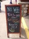 Wi-fi нет