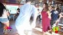Farid Mehdiyev and Elena Badzym Salsa Dancing at KISF, Sunday 03.06.2018