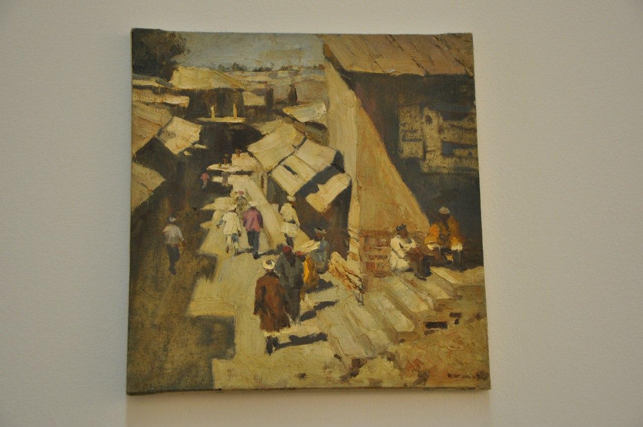 Творческое объединение художников Узбекистана  Умар Раджабов (р. 1985)  Старый город. 2012  Холст, масло