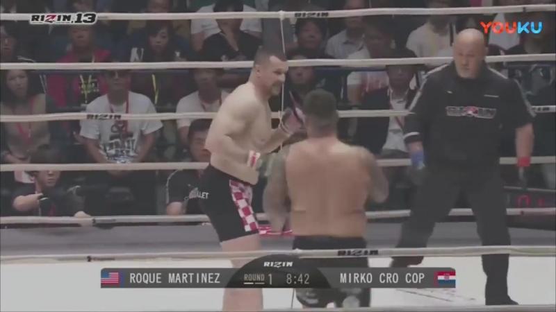 """""""克罗地亚战警""""米尔科Mirko Filipovic vs Roque Martinez (Rizin FF 13)_超清"""