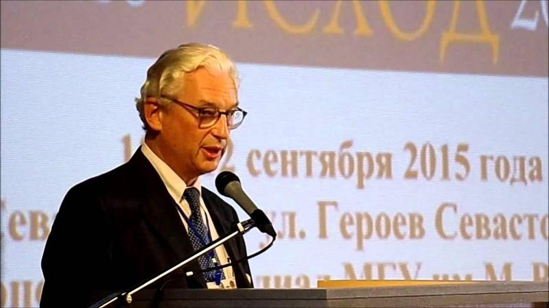 Serge Kapnist président de l'Association russe de la Croix Rouge Organisation initiale