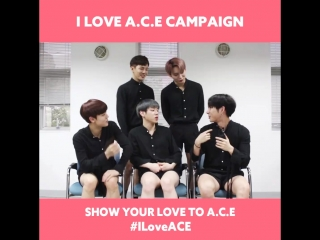 [180327] MIX9 (MIXNINE) @.SonyMusicKpopOfficial FB Update [#ILoveACE] Show your #AEGYO and love to A.C.E, HOW?