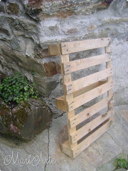 Новая жизнь деревянных поддонов