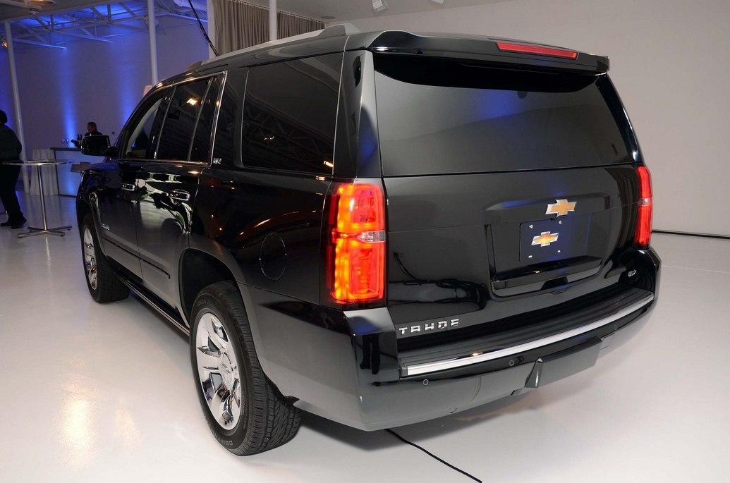 Диодные фонари Chevrolet Tahoe 2015